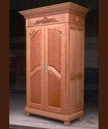 View French Armoire
