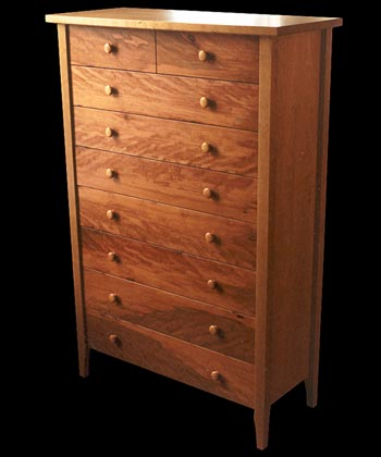 View 9 Drawer Dresser in Pear