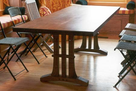 "View Walnut ""Tree"" Table"