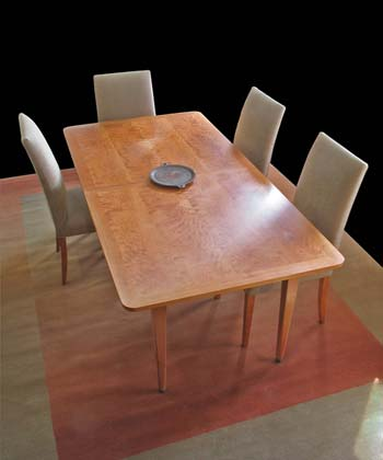 View Cherry Veneer Table