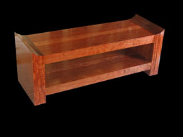 View Bubinga Coffee Table